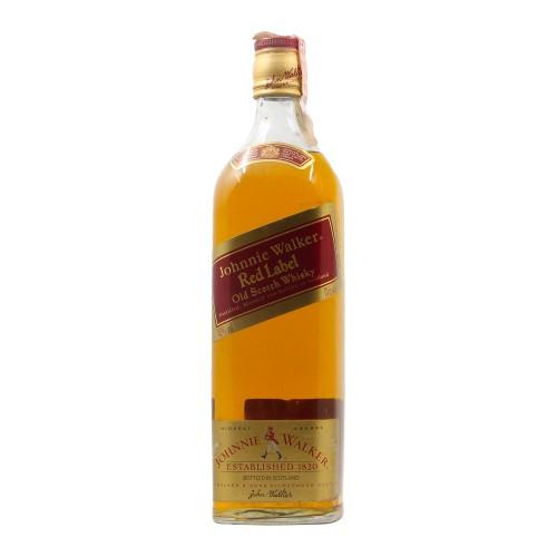JOHNNIE WALKER RED LABEL OLD SCOTCH WHISKY 70CL NV JOHNNIE WALKER Grandi Bottiglie