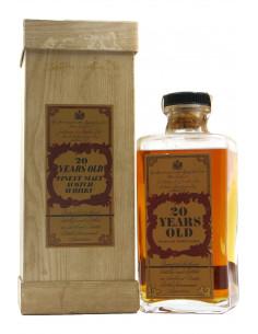 FINEST SCOTCH WHISKY OLD 20Y 75CL 43VOL NV JUSTERINI BROOKS Grandi Bottiglie