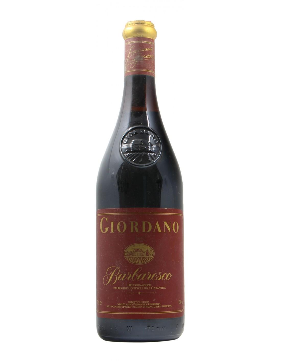 BARBARESCO 1982 GIORDANO Grandi Bottiglie