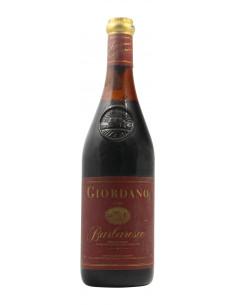 BARBARESCO 1984 GIORDANO Grandi Bottiglie