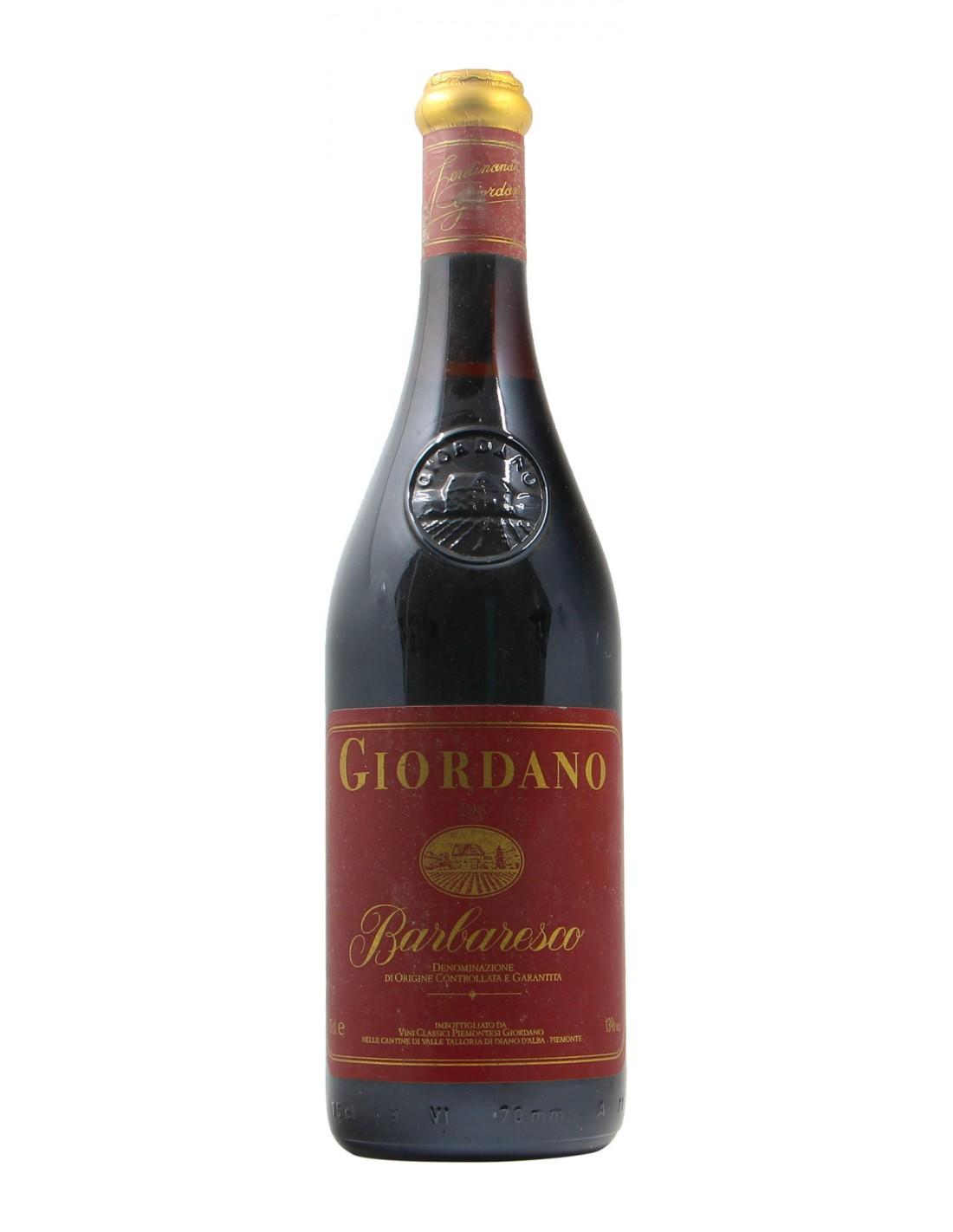 BARBARESCO 1983 GIORDANO Grandi Bottiglie