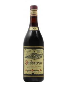 BARBARESCO 1971 GIORDANO GIOVANNI Grandi Bottiglie
