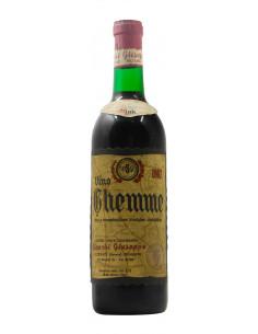 GHEMME CRU VAL FRE 1967 BIANCHI GIUSEPPE Grandi Bottiglie