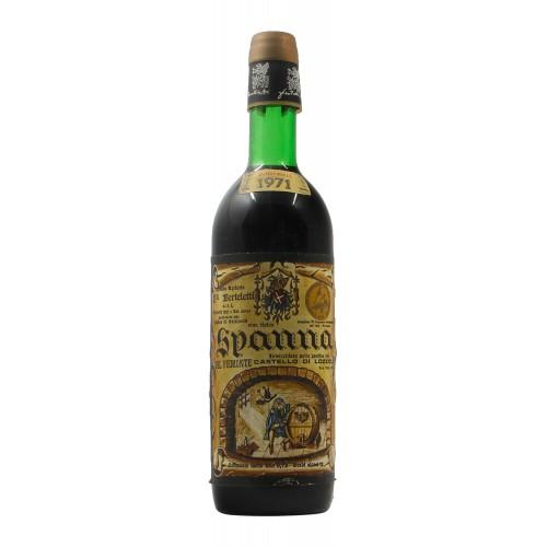SPANNA 1971 FRATELLI BERTELETTI Grandi Bottiglie