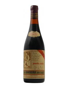 BARBERA DELLE LANGHE 1974 PAOLO COLLA Grandi Bottiglie