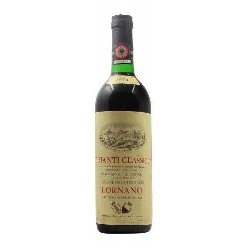 CHIANTI CLASSICO 1974 LORNANO Grandi Bottiglie