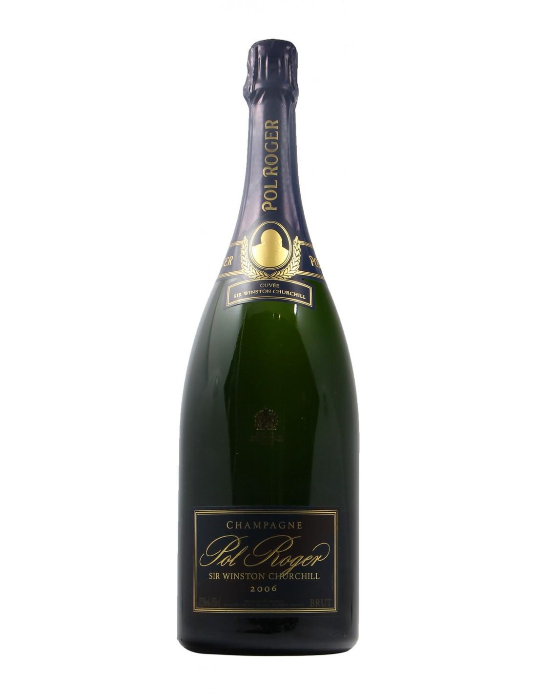 Champagne Winston Churchill Magnum 2006 POL ROGER GRANDI