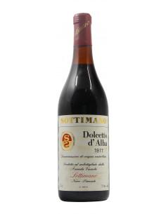 DOLCETTO D'ALBA 1977 SOTTIMANO Grandi Bottiglie