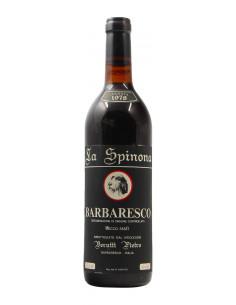 BARBARESCO 1978 LA SPINONA Grandi Bottiglie