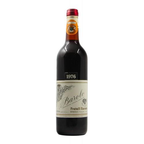 BAROLO 1976 FRATELLI BARALE Grandi Bottiglie