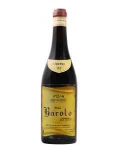 BAROLO RISERVA 1962 BATTISTA BORGOGNO Grandi Bottiglie
