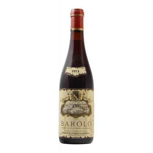 BAROLO 1974 LUDOVICO BORGOGNO Grandi Bottiglie