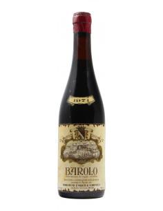 Barolo 1971 LUDOVICO BORGOGNO GRANDI BOTTIGLIE
