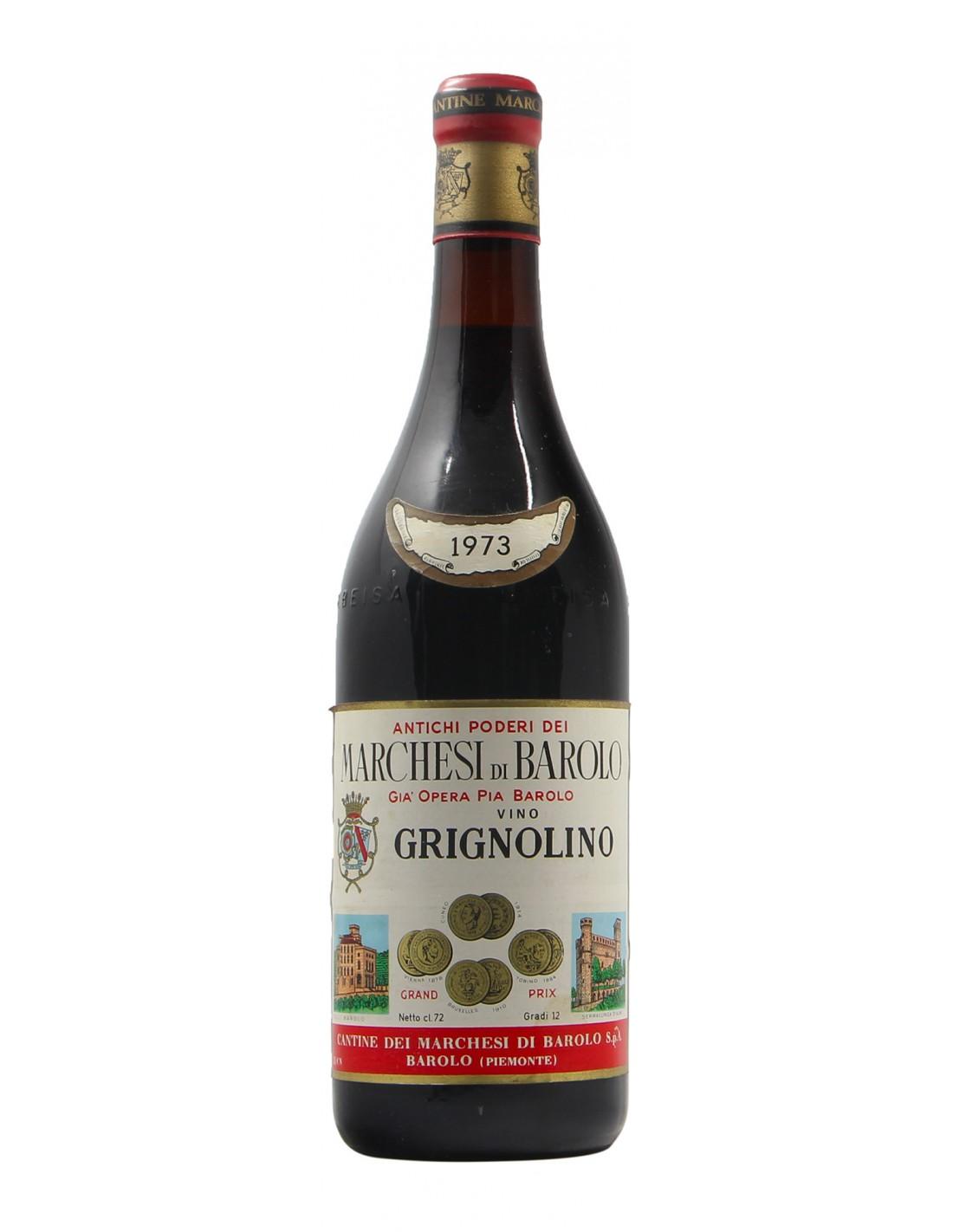 GRIGNOLINO 1973 MARCHESI DI BAROLO Grandi Bottiglie