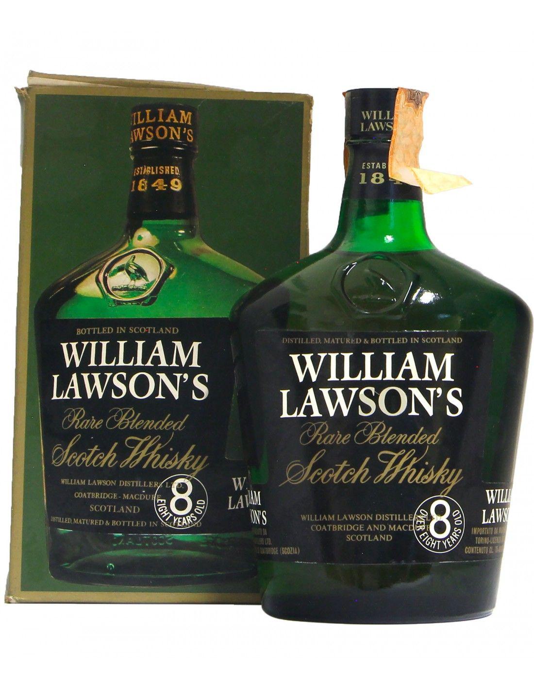 RARE OLD SCOTCH WHISKY 8YO 75CL NV WILLIAM LAWSON'S Grandi Bottiglie