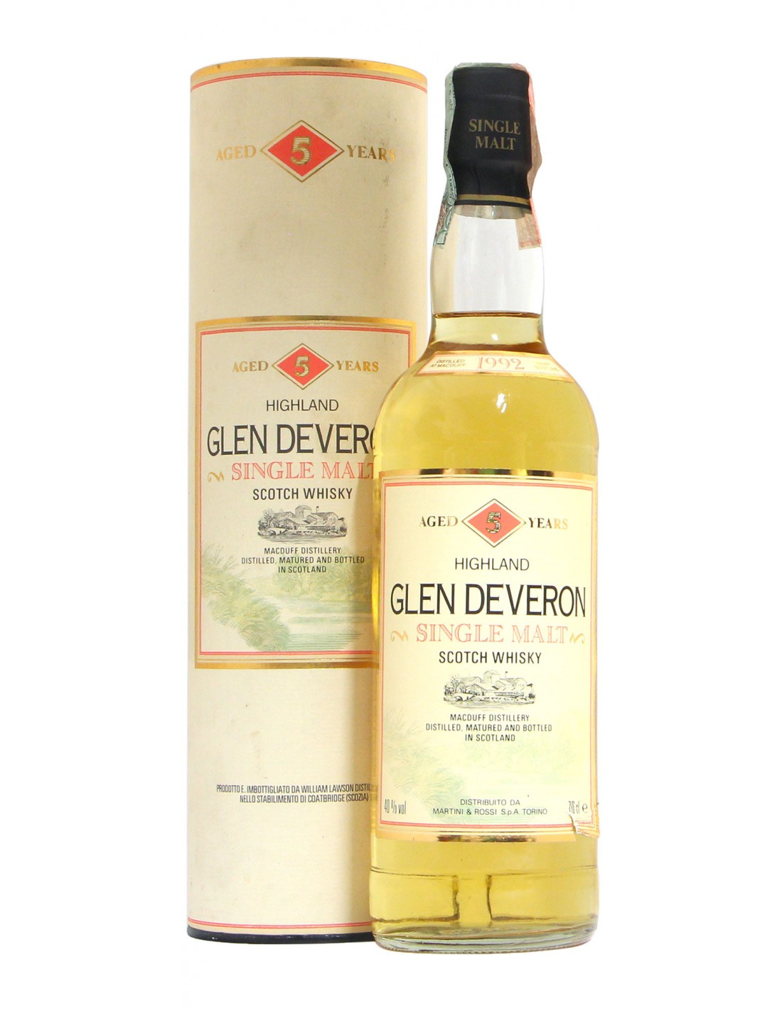 GLEN DEVERON 5YO 75CL 1992 WILLIAM LAWSON'S Grandi Bottiglie