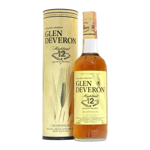 Whisky Glen Deveron 12Yo 75Cl 40Vol