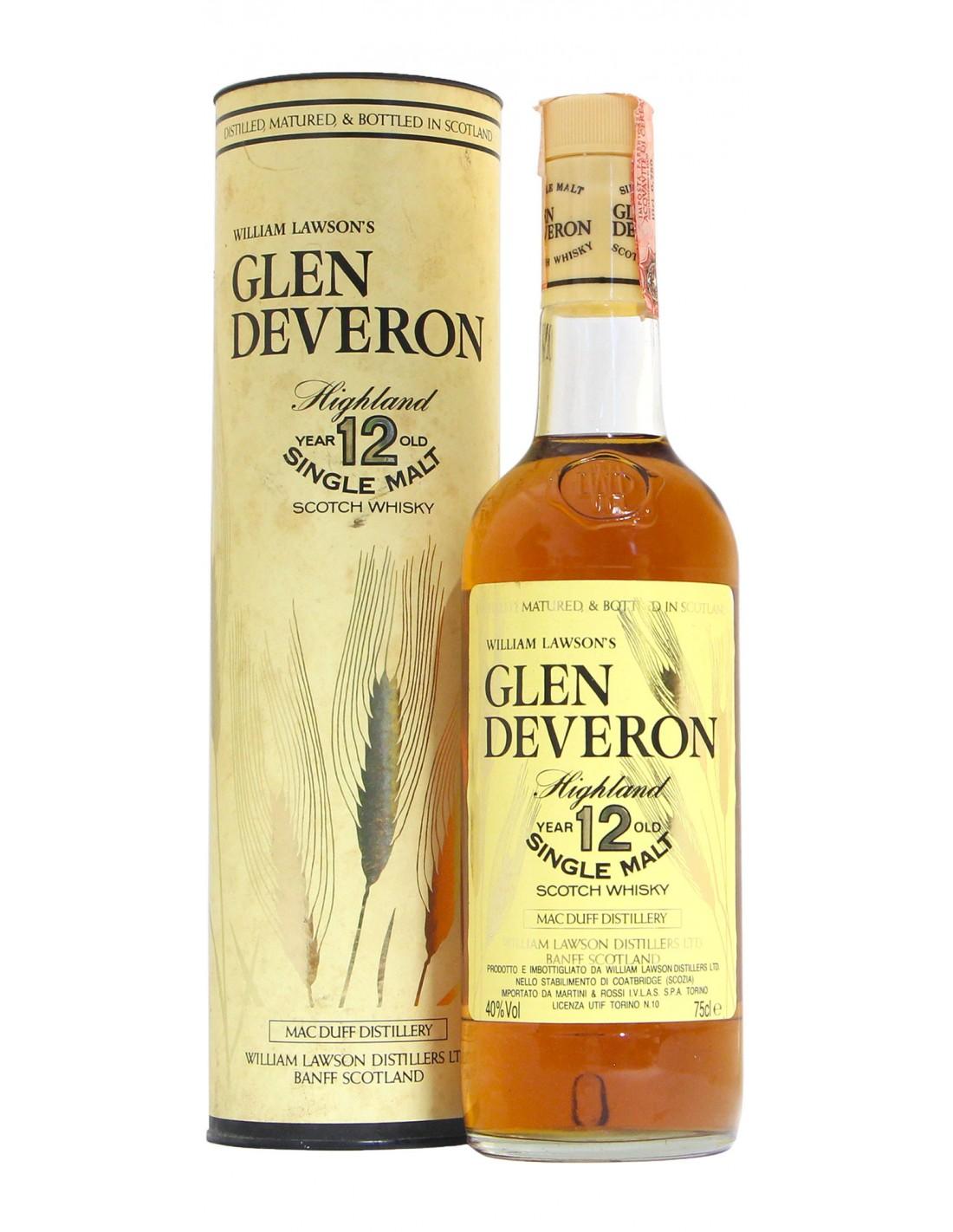 WHISKY GLEN DEVERON 12YO 75CL 40VOL NV WILLIAM LAWSON'S Grandi Bottiglie