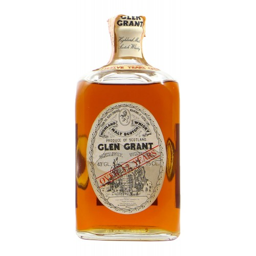 SCOTCH WHISKY OVER 12 YO 75 CL 43VOL NV GLEN GRANT Grandi Bottiglie