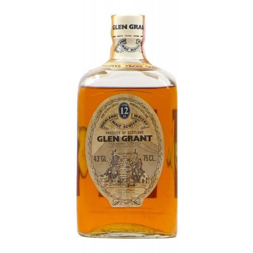 SCOTCH WHISKY 12 YO 75 CL 43VOL NV GLEN GRANT Grandi Bottiglie