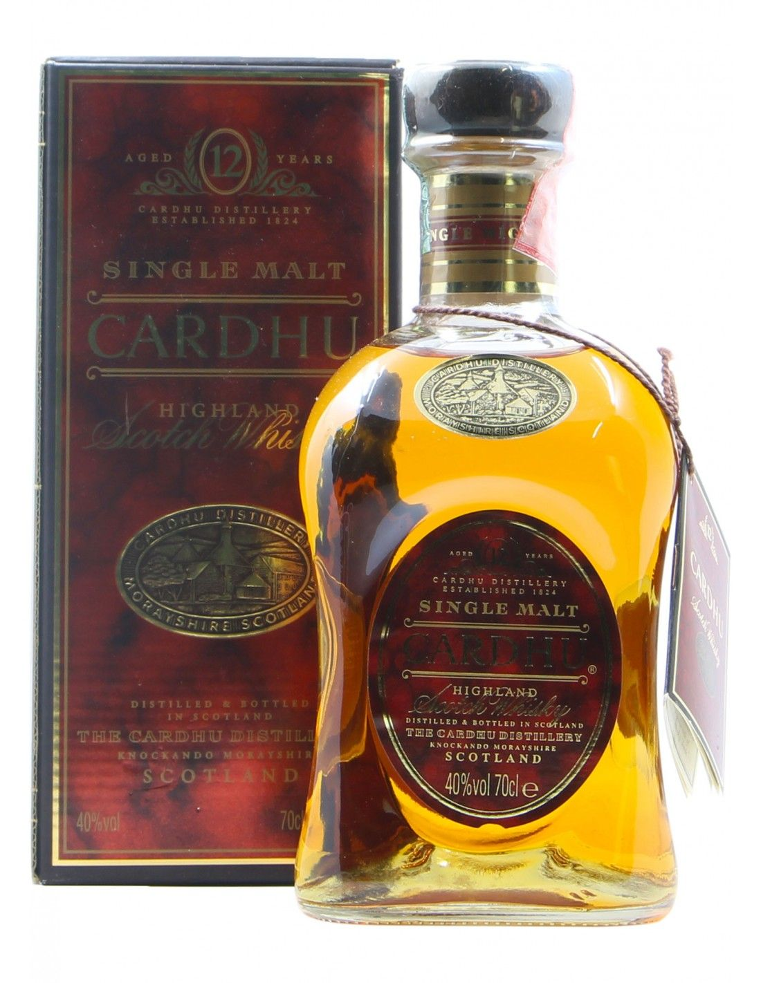 SCOTCH WHISKY AGES 12 YEARS 70 CL NV CARDHU Grandi Bottiglie