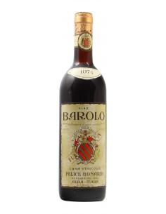 BAROLO RISERVA 1974 FELICE BONARDI Grandi Bottiglie