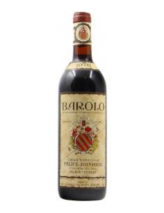 BAROLO RISERVA 1976 FELICE BONARDI Grandi Bottiglie
