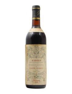 BAROLO RISERVA CENTENARIO 1971 CONTRATTO GIUSEPPE Grandi Bottiglie