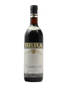DOLCETTO D'ALBA 1977 BERA Grandi Bottiglie