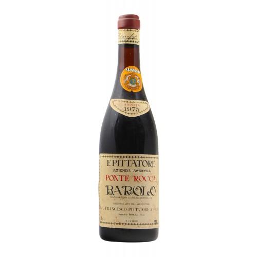 BAROLO 1975 PITTATORE FRANCESCO Grandi Bottiglie