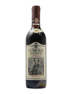 CHIANTI CLASSICO GAIOLE RICASOLI 1973 BARONE RICASOLI Grandi Bottiglie