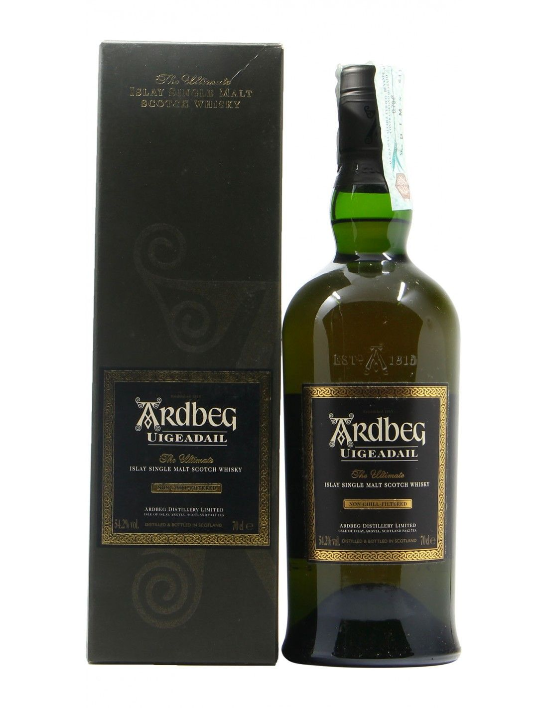 ISLAY SINGLE MALT SCOTCH WHISKY UIGEADAIL THE ULTIMATE NV ARDBEG Grandi Bottiglie