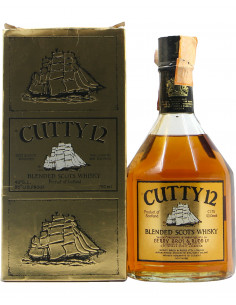 CUTTY BLENDED SCOTCH WHISKY 12YO 75CL NV BERRY BROS e RUDD Grandi Bottiglie