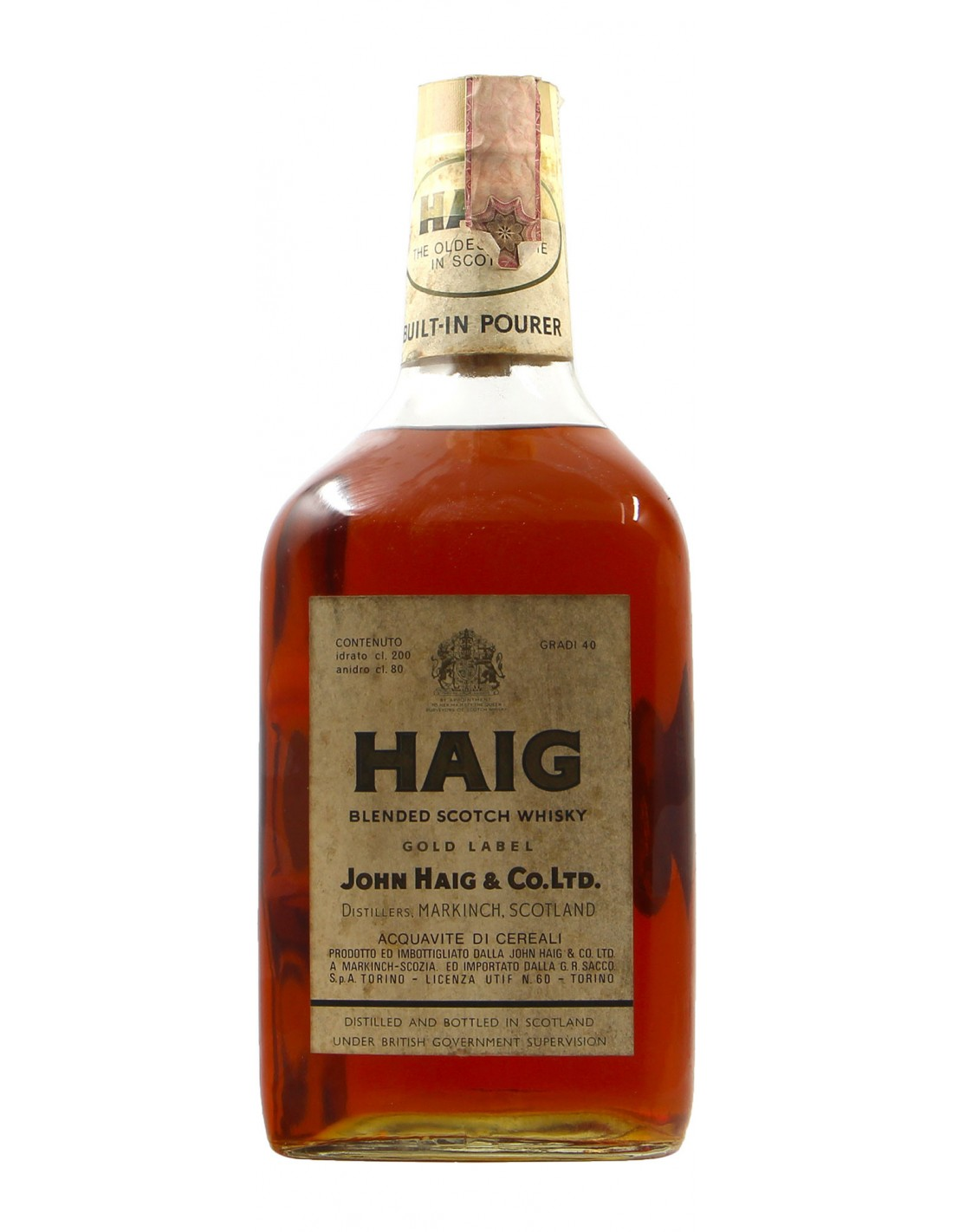 HAIG BLENDED SCOTCH WHISKY 2L NV JOHN HAIG & CO Grandi Bottiglie