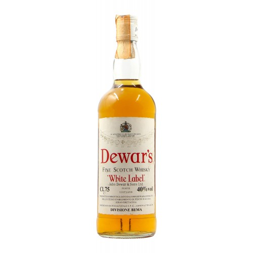 DEWAR' S FINE SCOTCH WHISKY WHITE LABEL 75CL 40 VOL NV JOHN DEWAR E SONS Grandi Bottiglie