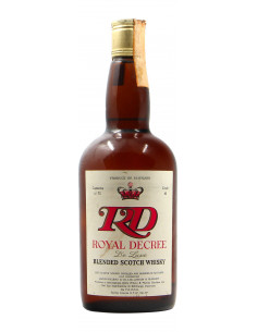 BLENDED SCOTCH WHISKY ROYAL DECREE 75CL NV ROYAL DECREE Grandi Bottiglie