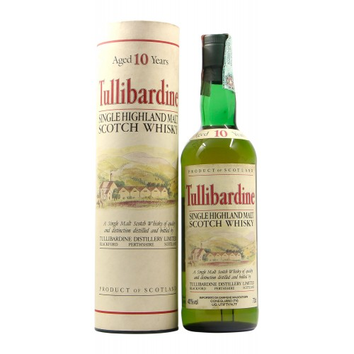 SINGLE HIGHLAND MALT SCOTCH WHISKY 10 YO NV TULLIBARDINE Grandi Bottiglie