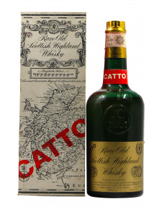RARE OLD SCOTTISH HIGHLAND WHISKY 75 CL NV CATTO Grandi Bottiglie