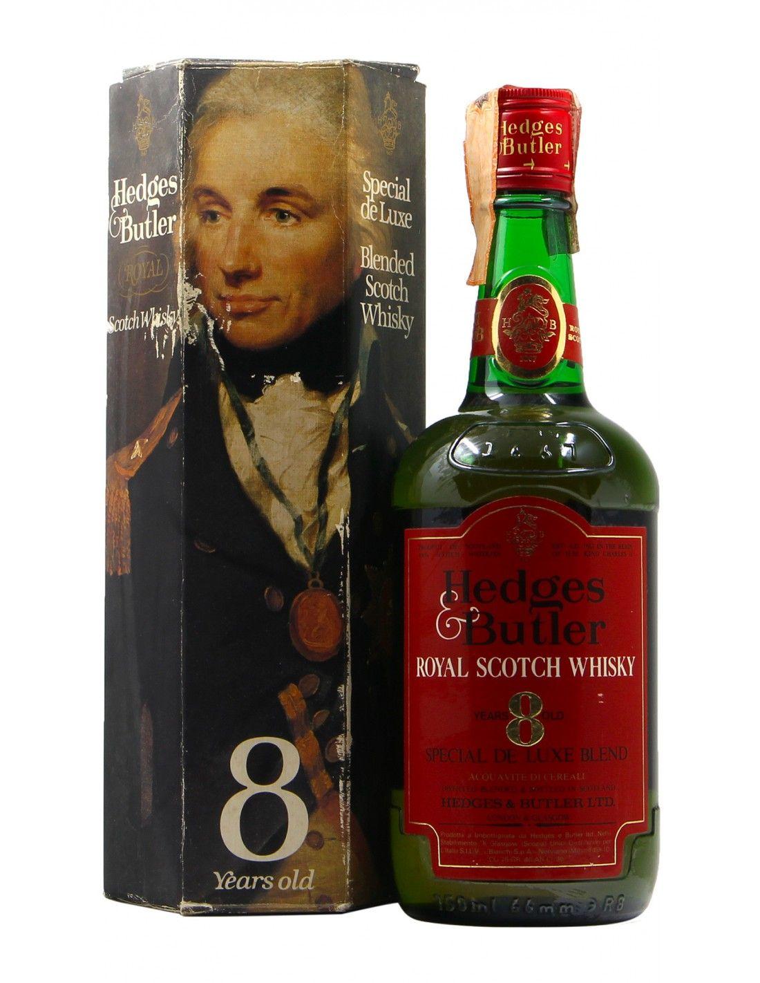 WHISKY 8YO SPECIAL DE LUXE BLEND 75CL 40° NV HEDGES BUTLER Grandi Bottiglie