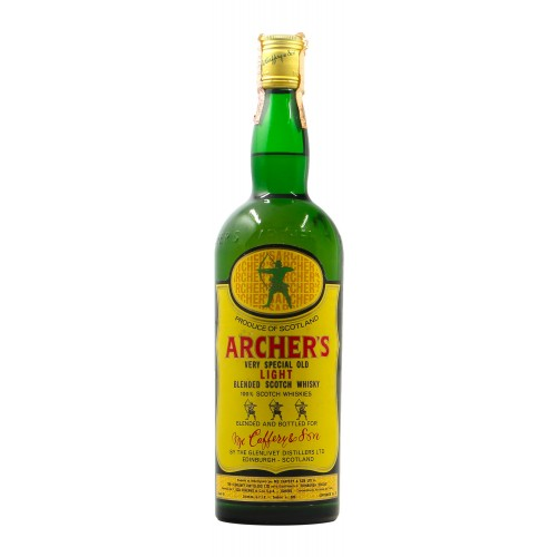 ARCHER'S VERY SPECIAL OLD LIGHT BLENDED SCOTCH WHISKY 75CL NV MC CAFFERY Grandi Bottiglie