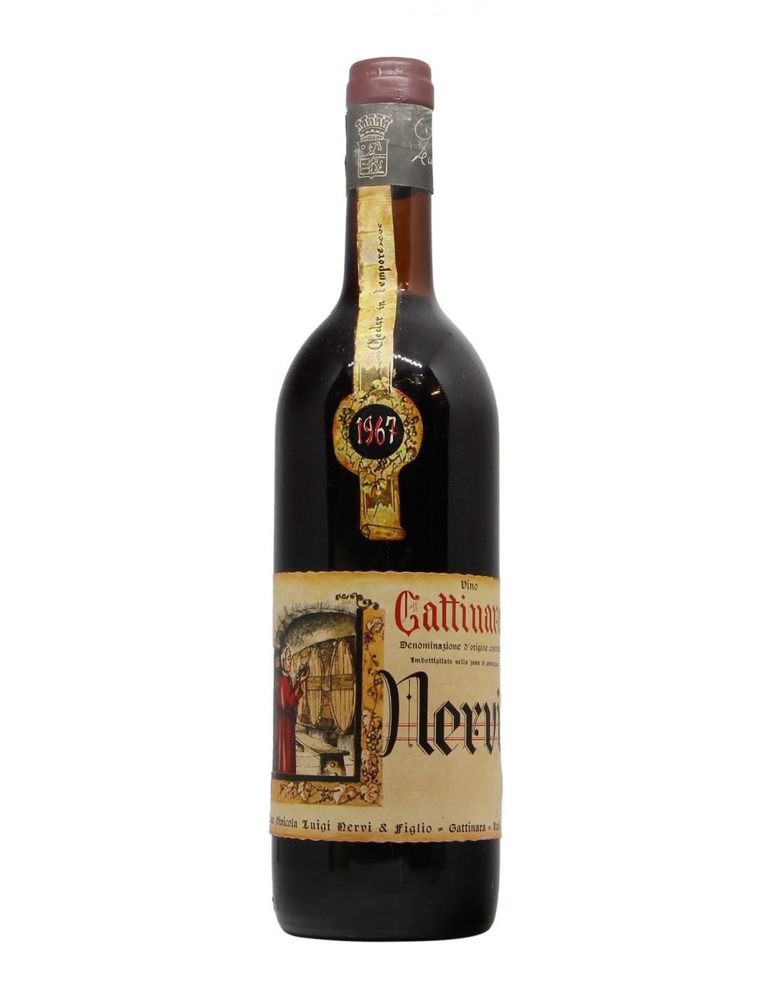 GATTINARA CLEAR COLOUR 1967 NERVI LUIGI Grandi Bottiglie