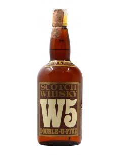 Scotch Whisky W5 Double U...