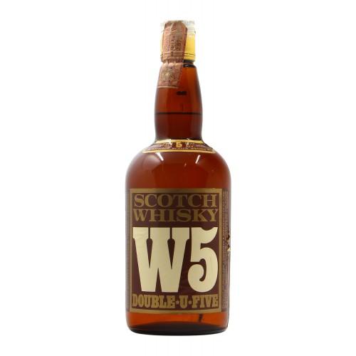 Scotch Whisky W5 Double U Five 75Cl 40Gr