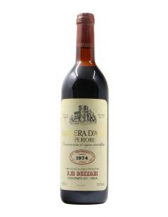 BARBERA D'ASTI SUPERIORE 1974 DEZZANI Grandi Bottiglie