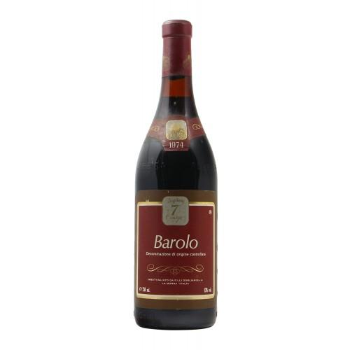 Barolo 1974 SETTE CASCINE GRANDI BOTTIGLIE