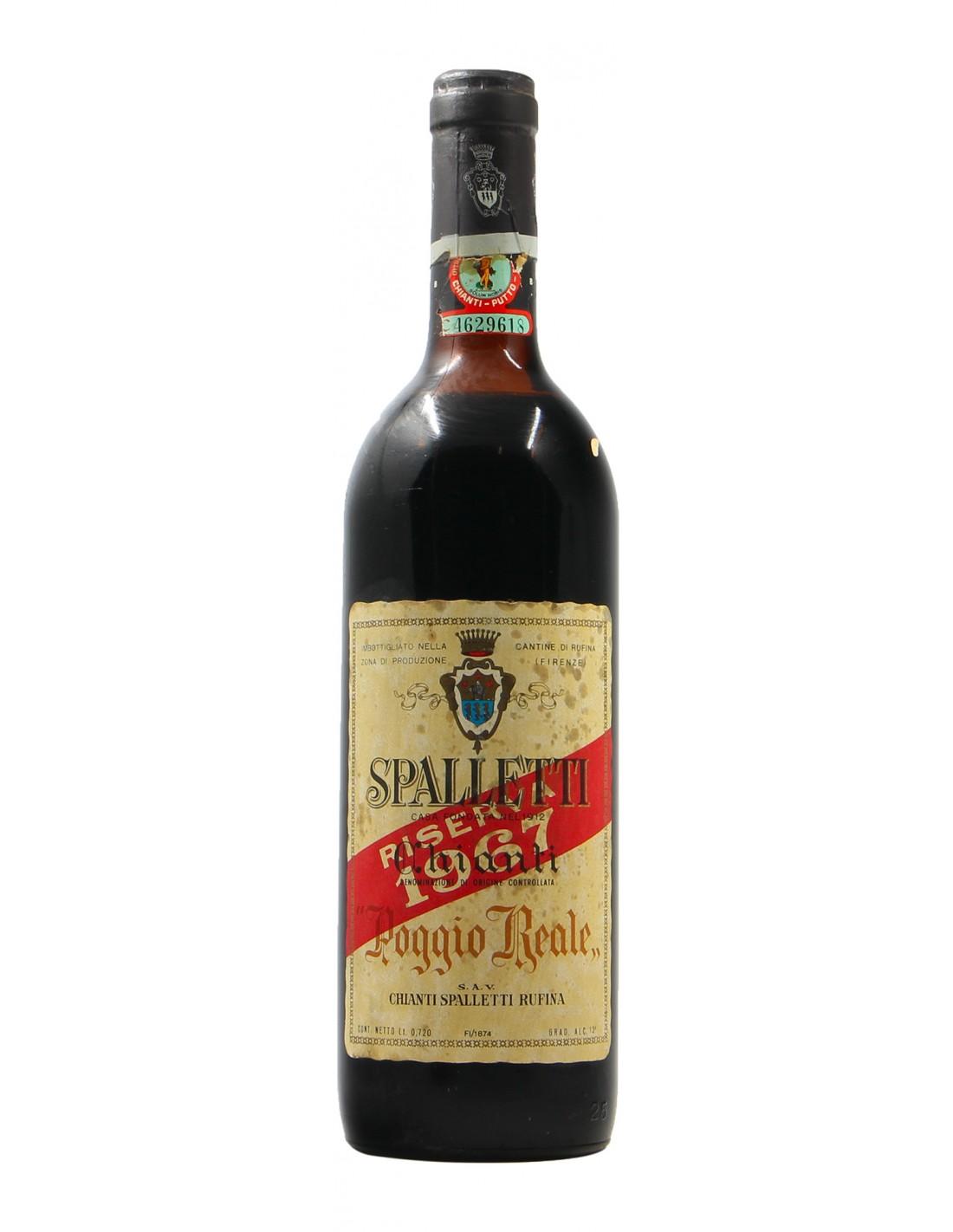 CHIANTI RISERVA POGGIO REALE 1967 SPALLETTI Grandi Bottiglie