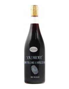 vino naturale SENZANIENTE MONTEPULCIANO D'ABRUZZO (2017)