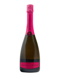 SPUMANTE BRUT CUVEE ROSE NV MONTALBERA Grandi Bottiglie