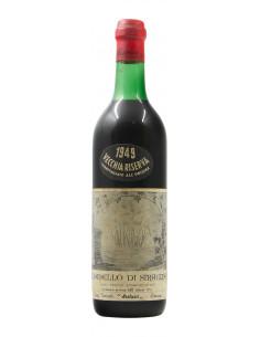 Albanello Di Siracusa Vecchia Riserva 1949 CASA VINICOLA