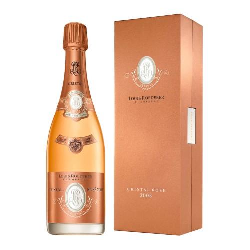 Champagne Cristal rosé 2008 Louis Roederer Grandi Bottiglie